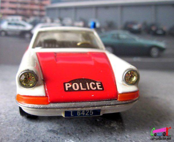 PORSCHE 911 TARGA 911S POLICE CORGI TOYS 1/43