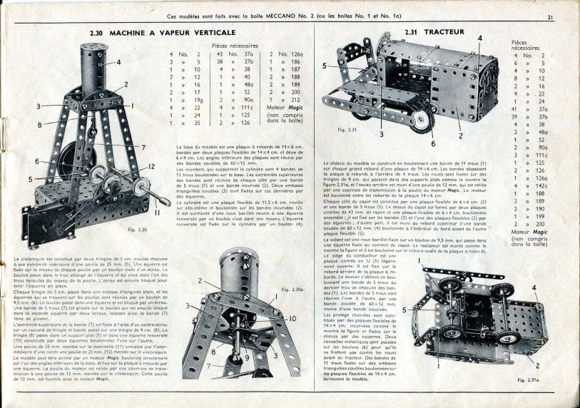 CATALOGUE MECCANO 1954