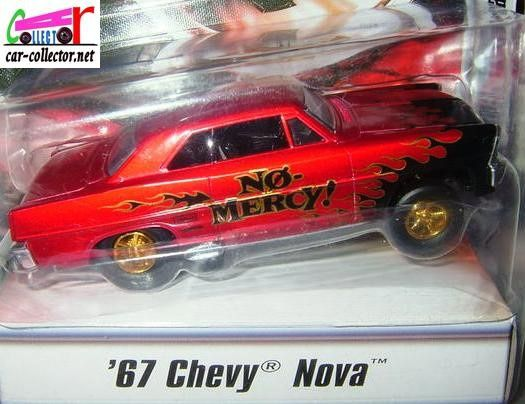 67 CHEVY NOVA HOT WHEELS 1/50 CLASSICAL GASSERS