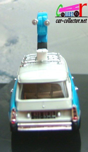 CITROEN ID 19 SKIS ROSSIGNOL GAMME NOREV COLLECTION 1/43