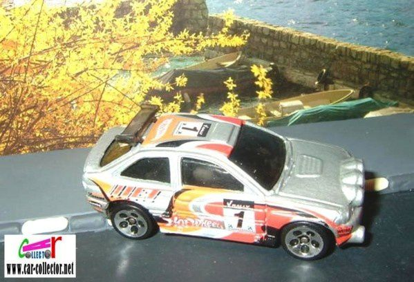 FORD ESCORT RALLY HOT WHEELS 1/64