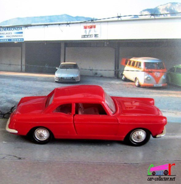PEUGEOT 404 COUPE 1963 NOREV 1/43