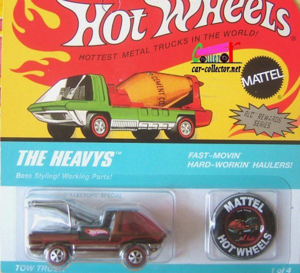 TOW TRUCK DEPANNEUSE HOT WHEELS 1/64
