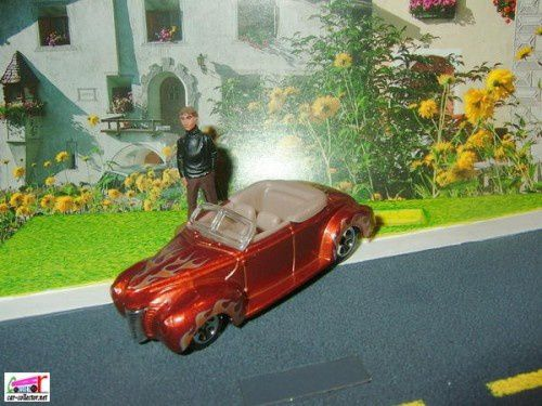 40 FORD CONVERTIBLE HOT WHEELS 1/64 - FORD CABRIOLET 1940