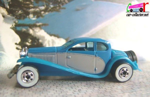 37 BUGATTI 1937 HOT WHEELS 1/64 TACOT HOT WHEELS MINIATURE CARCOLLECTOR