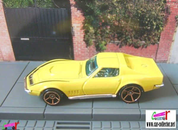 69 CORVETTE ZL-1 HOT WHEELS 1/64