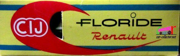 RENAULT FLORIDE HARD-TOP C.I.J 1/43