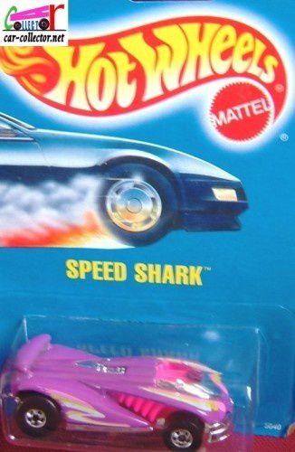 SPEED SHARK HOT WHEELS 1/64 - VOITURE FUTURISTE