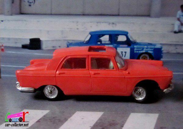 PEUGEOT 404 ORANGE 1960 AVEC TOIT OUVRANT NOREV 1/43