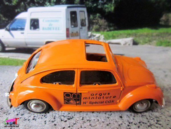 VW COX TYPE 113 1200 EXPORT 1963 NUMERO SPECIAL ARGUS MINIATURE NOREV 1/43