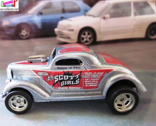 Neet streeter ford 1936 hot wheels 1 64 car for Garage neet