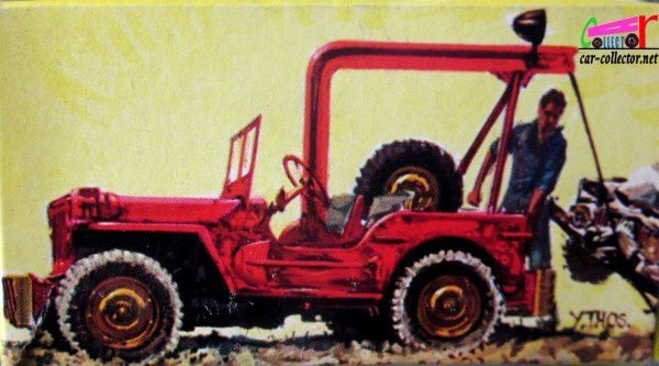 HOTCHKISS JEEP WILLYS DE DEPANNAGE DINKY TOYS 1/43