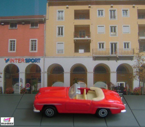 MERCEDES 190 SL 1955 CABRIOLET WELLY 1/60