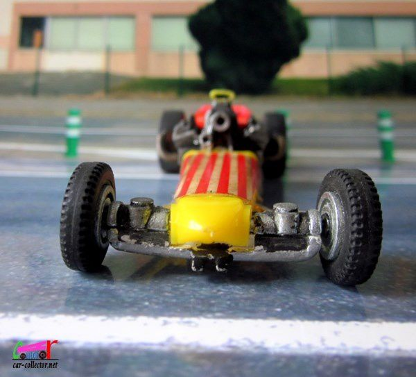 DRAGSTER SET DINKY TOYS 1/43