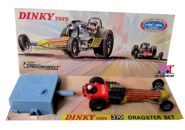 Toys That Start With F : Dragster set dinky toys car collector