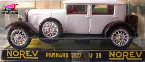 PANHARD 35CV BICOLORE 1927 NOREV 1/43