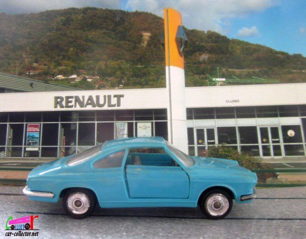 SIMCA 1000 COUPE PEINTURE TURQUOISE NOREV 1/43
