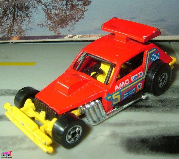 AMC GREASED GREMLIN HOT WHEELS 1/64 MINIATURE BUGGY