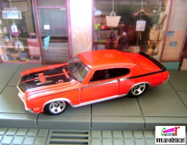 BUICK GSX 1970 HOT WHEELS 1/64