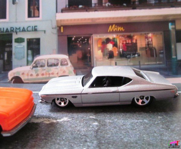 69 CHEVELLE SS 396 COUPE  1969 HOT WHEELS 1/64