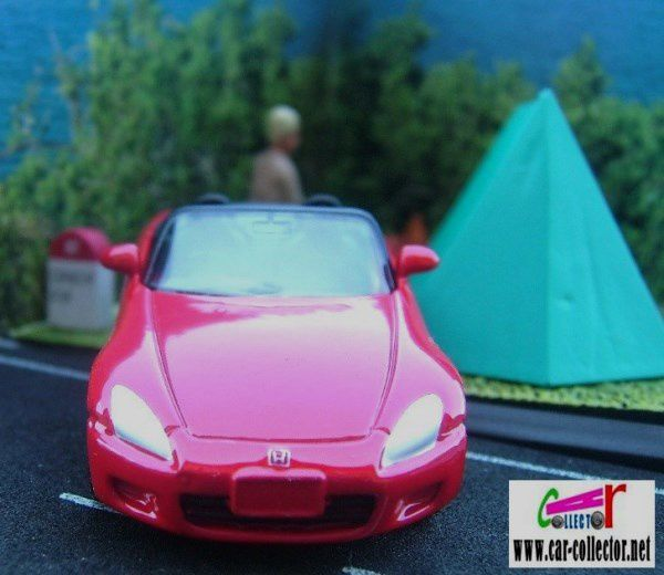 HONDA S2000 CABRIOLET ROUGE WELLY 1/60