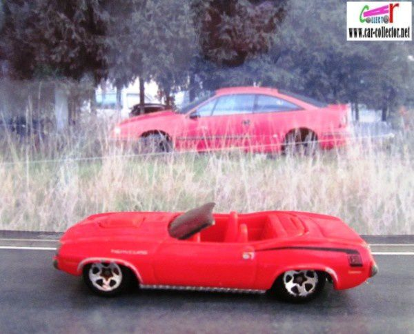 70 PLYMOUTH BARRACUDA CONVERTIBLE HOT WHEELS 1/64 CABRIOLET 70