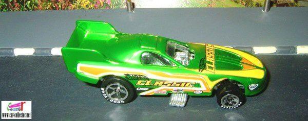 PONTIAC FIREBIRD FUNNY CAR 1997 DRAGSTER HOT WHEELS 1/64