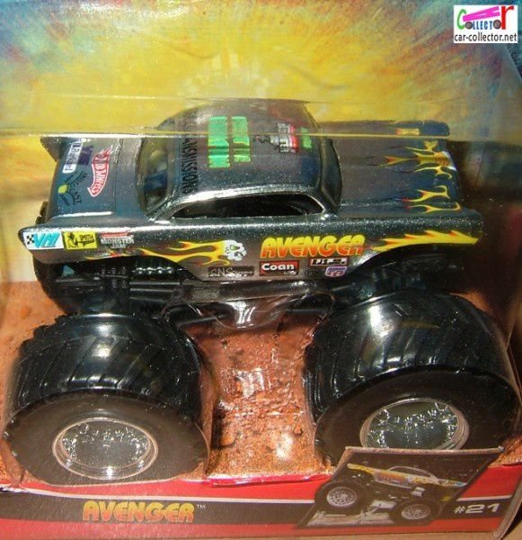 AVENGER 57 CHEVY MONSTER JAM HOT WHEELS
