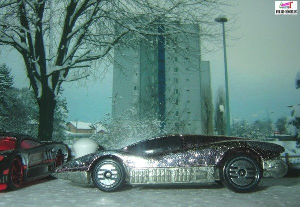 AEROFLASH SILVER BULLET OU LARGE CHARGE HOT WHEELS 1/64