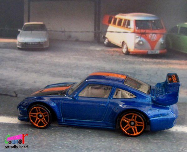 PORSCHE 993 GT2 HOT WHEELS 1/64