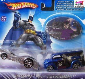 BATMOBILE HARDNOZE HOT WHEELS 1/64 - VOITURE BATMAN