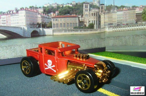 BONE SHAKER FORD 1934 PICK-UP HOT WHEELS 1/64