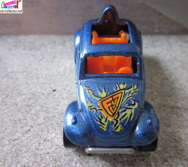 VW COX BAJA BUG HOT WHEELS 1/64 BAJA BEETLE VOLKSWAGEN COCCINELLE