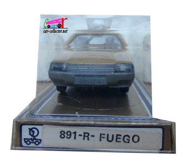 RENAULT FUEGO BEIGE JET CAR NOREV 1/43