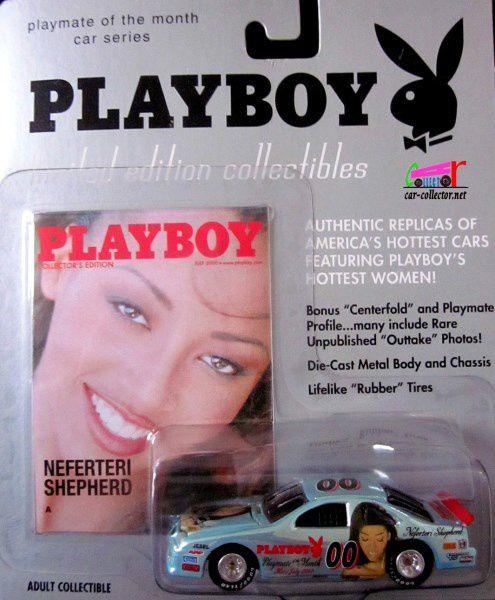 NEFERTERI SHEPHERD PLAYBOY CHEVROLET MONTE CARLO NASCAR 1995 JOHNNY LIGHTNING 1/64