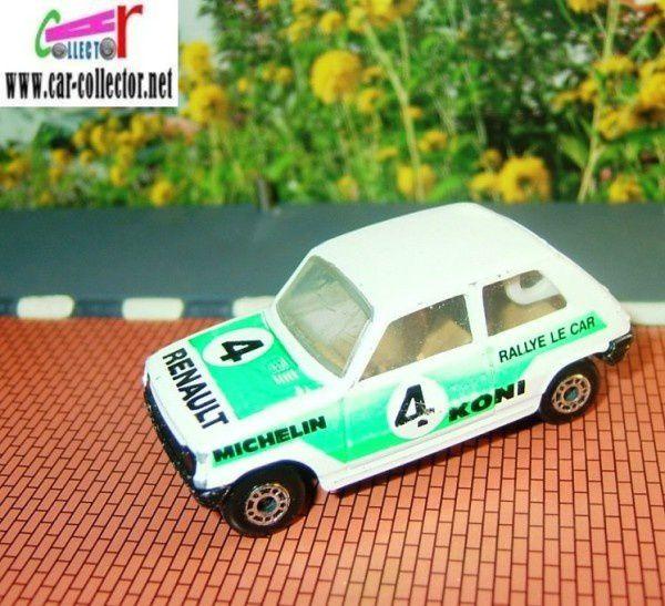 MB21-f RENAULT 5 TL LE CAR R5 MATCHBOX SERIES SUPERFAST LESNEY 1969