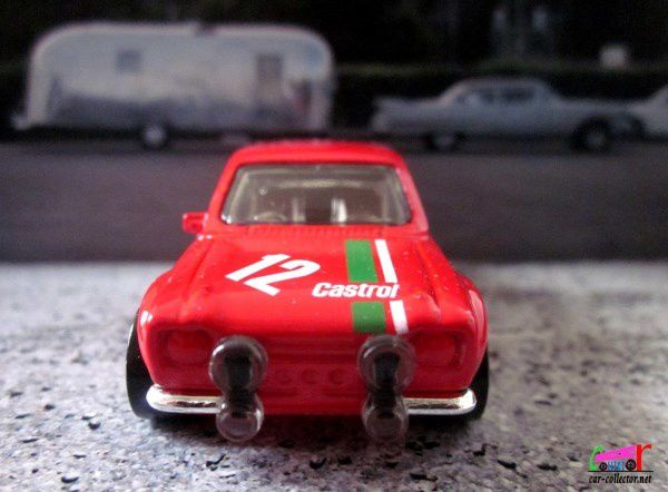 70' FORD ESCORT RS 1600 HOT WHEELS 1/64
