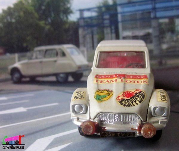 CITROEN DYANE 1967 DINKY TOYS MECCANO TRIANG 1/43