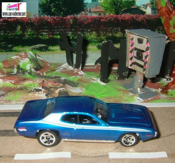 71 PLYMOUTH GTX HOT WHEELS 1/64