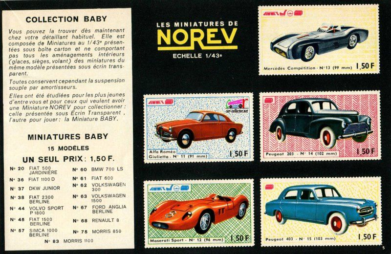 CATALOGUE NOREV 1966 - CATALOG NOREV 1966