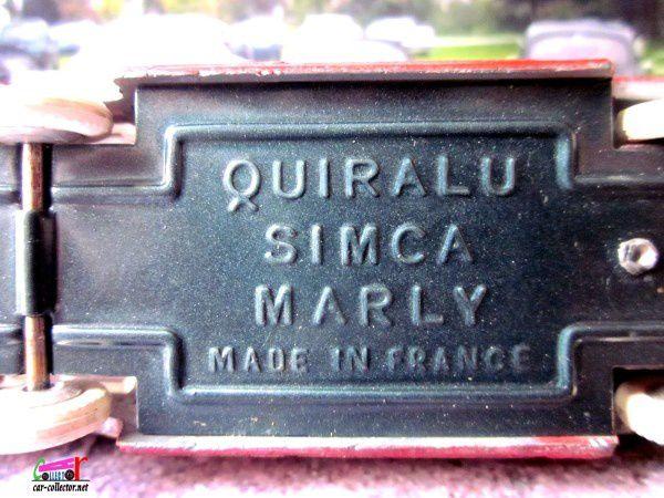 SIMCA MARLY BREAK BICOLORE QUIRALU 1/43