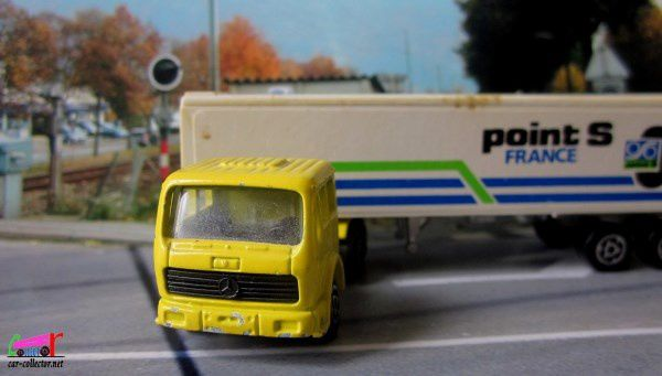 361 f camion mercedes container majorette 1 100 car for Garage point s oyonnax