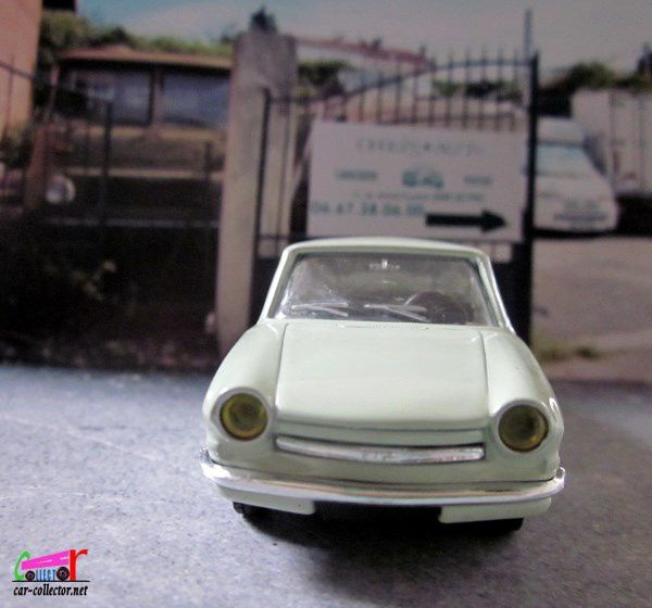 FASCICULE N°61 SIMCA 1000 COUPE 1963 NOREV 1/43