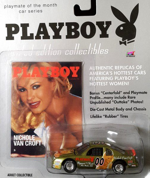 NICHOLE VAN CROFT PLAYBOY CHEVROLET MONTE CARLO NASCAR 1995 JOHNNY LIGHTNING 1/64