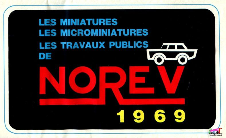CATALOGUE NOREV 1969
