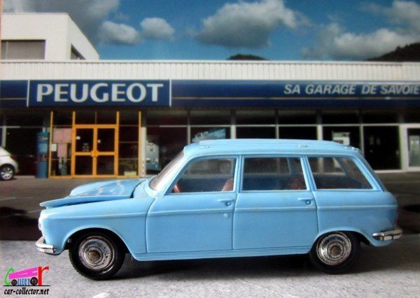 PEUGEOT 204 BREAK 1966 BLEU CLAIR NOREV 1/43