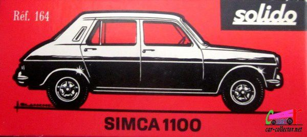 SIMCA 1100 BORDEAUX SOLIDO 1/43