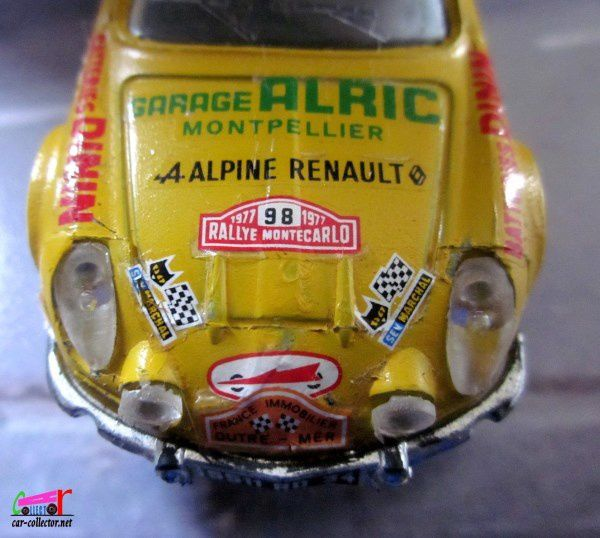 ALPINE RENAULT A110 1600 BERLINETTE TOUR DE FRANCE SOLIDO 1/43