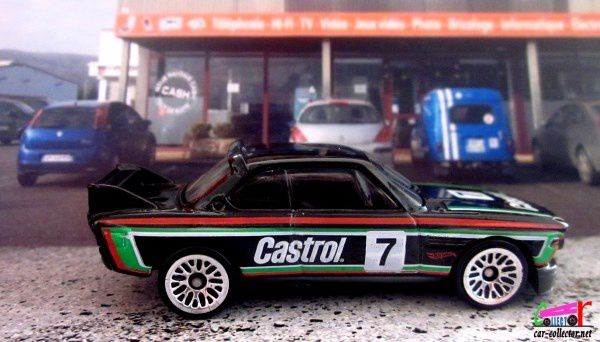 73 BMW 3.0 CSL RACE CAR HOT WHEELS 1/64