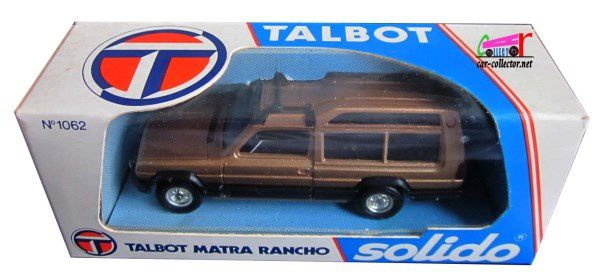 TALBOT MATRA RANCHO AS COGNAC METALLISE SOLIDO 1/43